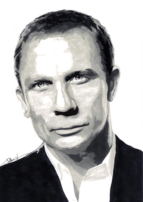Daniel Craig by Lwize